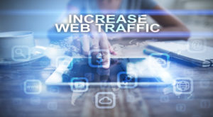 increasing web traffic