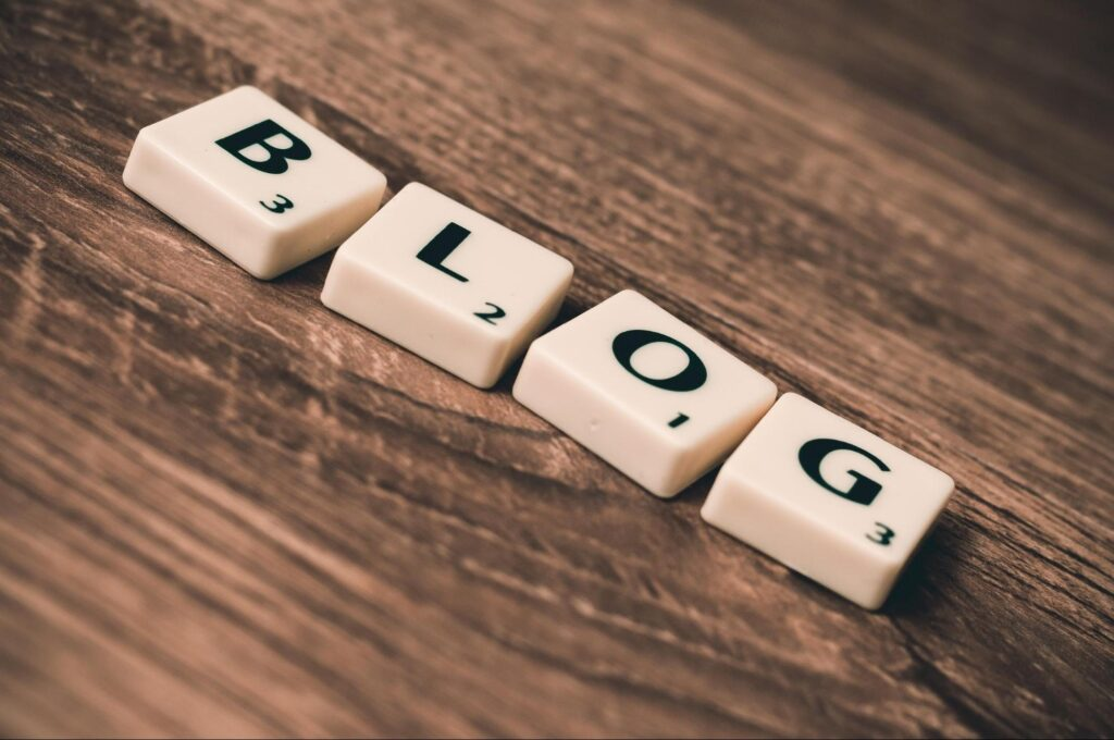 Blogging Is Your Way Out